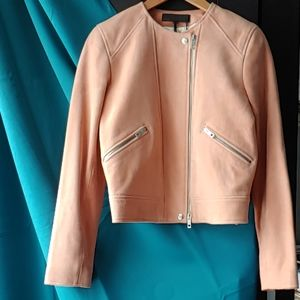 Rag & Bone Pink Hollander Jacket